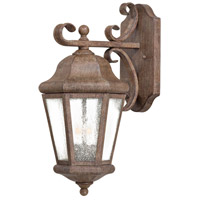 Taylor Court 2 Light 18 inch Vintage Rust Outdoor Wall Mount Lantern
