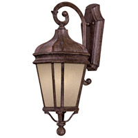 Harrison 1 Light 21 inch Vintage Rust Outdoor Wall Mount