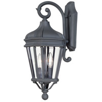 The Great Outdoors by Minka Harrison 2 Light Outdoor Wall Lantern in Black 8691-66