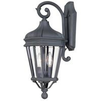 The Great Outdoors by Minka Harrison 2 Light Outdoor Wall Lantern in Black 8691-66 photo thumbnail