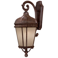 The Great Outdoors by Minka Harrison 1 Light Outdoor Wall in Vintage Rust 8692-1-61-PL