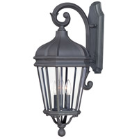 Harrison 3 Light 28 inch Black Outdoor Wall Mount Lantern