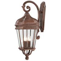 Minka-Lavery 8693-61 Harrison 4 Light 32 inch Vintage Rust Outdoor Wall Lantern The Great Outdoors