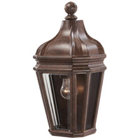 Harrison 1 Light 15 inch Vintage Rust Outdoor Pocket Lantern