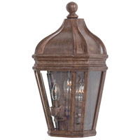The Great Outdoors by Minka Harrison 3 Light Outdoor Wall in Vintage Rust 8698-61