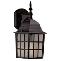 The Great Outdoors by Minka Bridgeport 1 Light Outdoor Wall in Black 8717-66
