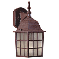 Bridgeport 1 Light 15 inch Antique Bronze Outdoor Wall Mount Lantern