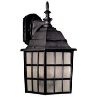 Bridgeport 2 Light 18 inch Black Outdoor Wall Mount Lantern