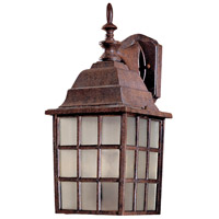 Bridgeport 2 Light 18 inch Antique Bronze Outdoor Wall Mount Lantern