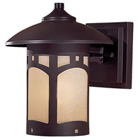 Harveston Manor 1 Light 9 inch Dorian Bronze Outdoor Wall Mount Lantern