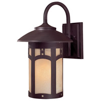 Harveston Manor 1 Light 15 inch Dorian Bronze Outdoor Wall Mount Lantern