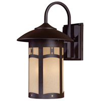 Harveston Manor 3 Light 18 inch Dorian Bronze Outdoor Wall Mount Lantern