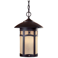 Harveston Manor 3 Light 11 inch Dorian Bronze Outdoor Chain Hung Lantern
