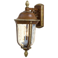 Minka-Lavery 8751-161 Montanero 2 Light 21 inch Mossoro Walnut w/Silver Highlights Outdoor Wall photo thumbnail