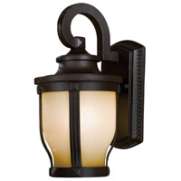 Merrimack 1 Light 12 inch Corona Bronze Outdoor Wall Mount