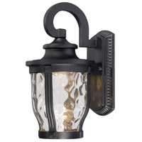 Minka-Lavery 8761-66-L Merrimack LED 12 inch Black Outdoor Wall Light The Great Outdoors