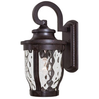 Merrimack 1 Light 16 inch Corona Bronze Outdoor Wall Mount Lantern