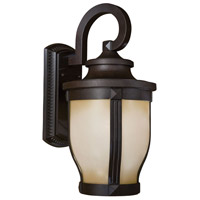The Great Outdoors by Minka Merrimack 1 Light Outdoor Wall in Corona Bronze 8763-166-PL