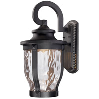 Minka-Lavery 8763-66-L Merrimack LED 20 inch Black Outdoor Wall Light The Great Outdoors