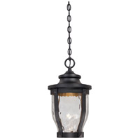Merrimack LED 10 inch Black Outdoor Chain Hung Lantern