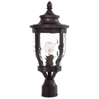 Merrimack 1 Light 20 inch Corona Bronze Post Light in Incandescent