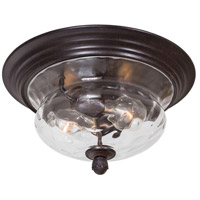 The Great Outdoors by Minka Merrimack 2 Light Flushmount in Corona Bronze 8769-166