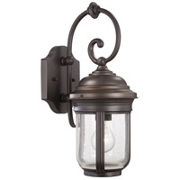 Minka-Lavery 8817-57 Amherst 1 Light 17 inch Roman Bronze Outdoor Wall Light The Great Outdoors