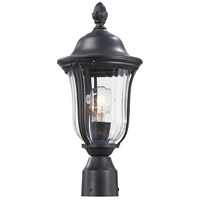 Morgan Park 1 Light 18 inch Heritage Outdoor Post Mount Lantern