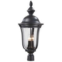 The Great Outdoors by Minka Morgan Park 3 Light Post Light in Heritage 8846-94 photo thumbnail