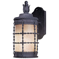 The Great Outdoors by Minka Mallorca 1 Light Outdoor Wall in Spanish Iron 8880-A39-PL
