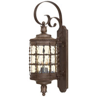 The Great Outdoors by Minka Mallorca 2 Light Wall Lamp in Vintage Rust Powder Coat 8881-A61