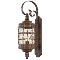 Mallorca 2 Light 28 inch Vintage Rust Outdoor Wall Mount Lantern