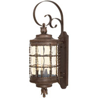 The Great Outdoors by Minka Mallorca 4 Light Wall Lamp in Vintage Rust Powder Coat 8882-A61