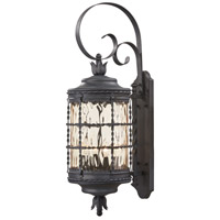 Mallorca 4 Light 34 inch Spanish Iron Outdoor Wall Mount Lantern