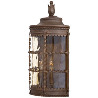 Minka-Lavery 8887-A61 Mallorca 2 Light 20 inch Vintage Rust Outdoor Pocket Lantern