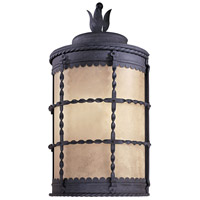 Mallorca 1 Light 20 inch Spanish Iron Outdoor Pocket Lantern
