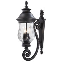Newport 3 Light 28 inch Heritage Outdoor Wall Mount Lantern
