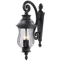Newport 3 Light 28 inch Heritage Outdoor Wall Light, The Great Outdoors
