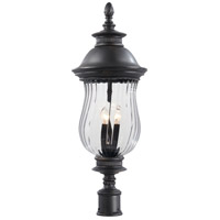 Newport 4 Light 33 inch Heritage Outdoor Post Mount Lantern