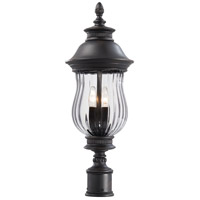 The Great Outdoors by Minka Newport 3 Light Post Light in Heritage 8909-94