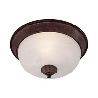 Minka-Lavery Signature 1 Light Flushmount in Antique Bronze 891-91-PL