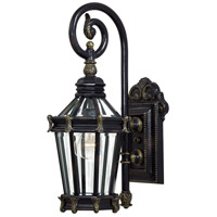 The Great Outdoors by Minka Stratford Hall 1 Light Outdoor Wall in Heritage w/Gold Highlights 8930-95