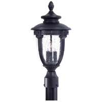 The Great Outdoors by Minka Burwick 3 Light Post Light in Heritage 8956-94