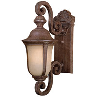 Ardmore 1 Light 20 inch Vintage Rust Outdoor Wall Mount