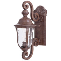 Ardmore 1 Light 20 inch Vintage Rust Outdoor Wall Mount Lantern