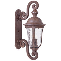 Ardmore 3 Light 32 inch Vintage Rust Outdoor Wall Mount Lantern