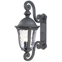 Ardmore 3 Light 32 inch Black Outdoor Wall Light, The Great Outdoors