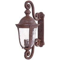 The Great Outdoors by Minka Ardmore 5 Light Outdoor Wall in Vintage Rust 8993-61