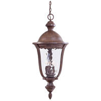 Ardmore 5 Light 15 inch Vintage Rust Outdoor Chain Hung Lantern