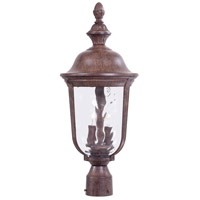 Ardmore 2 Light 24 inch Vintage Rust Outdoor Post Mount Lantern